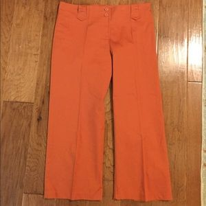 2 for $20 Like New Rust capris